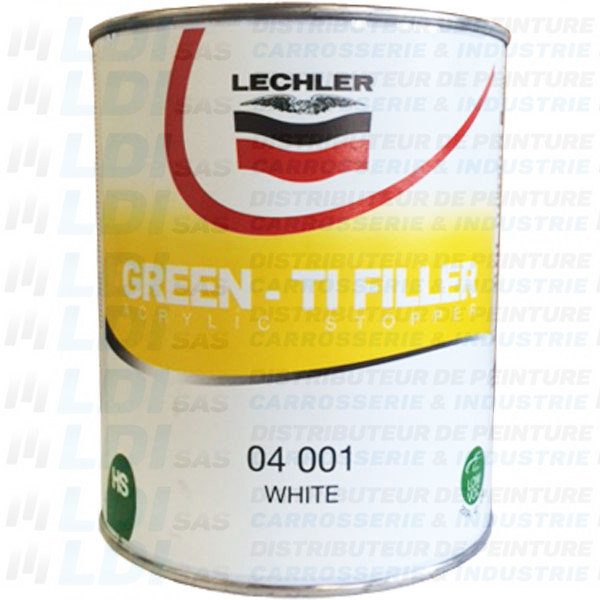 GREEN TI FILLER 1L BLANC