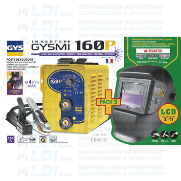 BUNDLE GYSMI 160 P + MASQUE LCD TECHNO 11