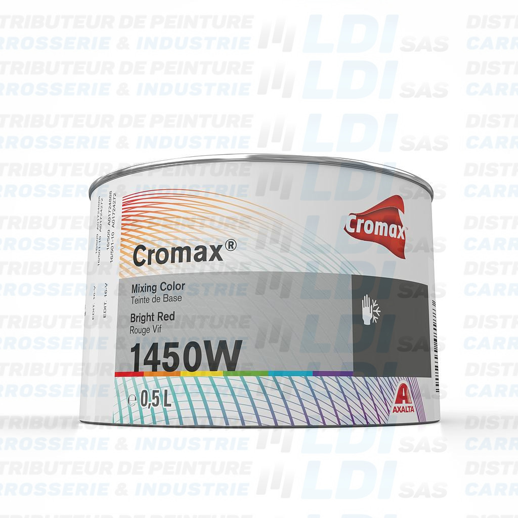 CROMAX ROUGE BRILLANT 0.5L