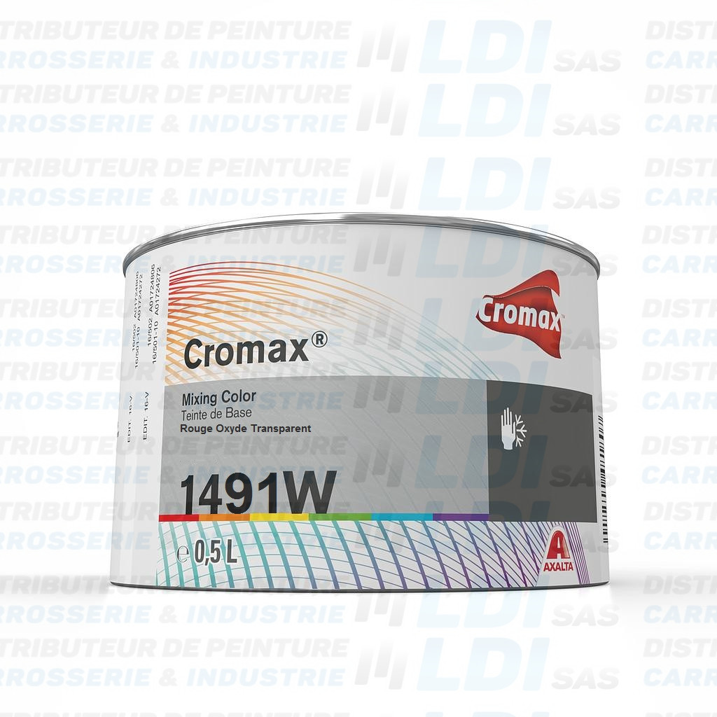 CROMAX ROUGE OXYDE TRANSPARENT 0.5L