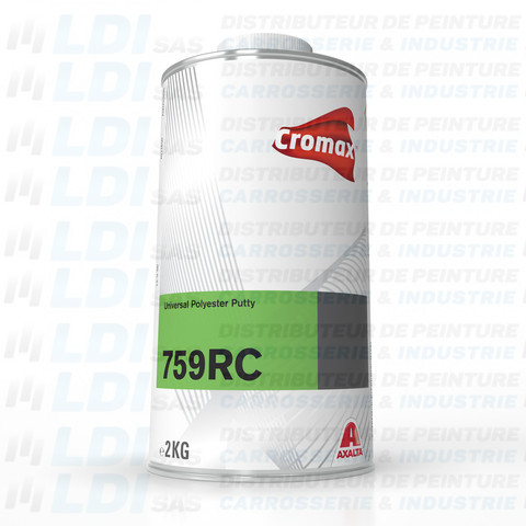 MASTIC POLYESTER CARTOUCHE 2KG REMPLACE 749 RC
