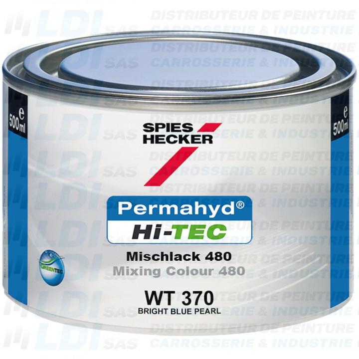 BRIGHT BLUE PEARL HI-TEC 0.5L WT370