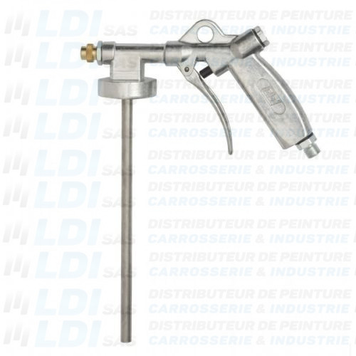 PISTOLET ANTIGRAVILLONS BUSE REGLABLE