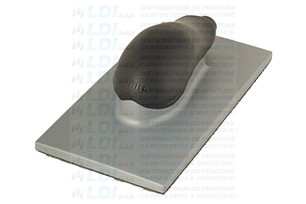 CALE ASPIRANTE 115X230MM GRIP 36 TROUS GRIS