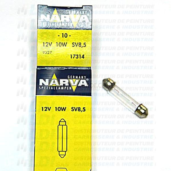 LAMPE NAVETTE 10X38 12V 10 WATTS 17314