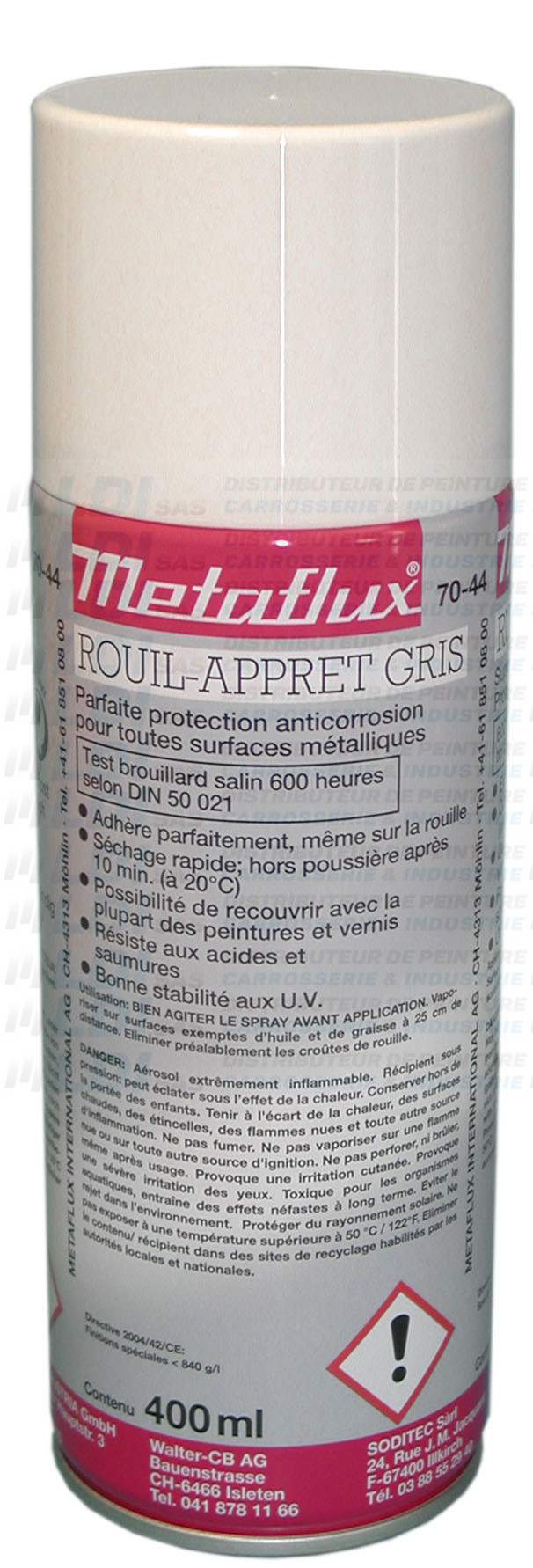AEROSOL ROUILL' APPRET GRIS 400ML