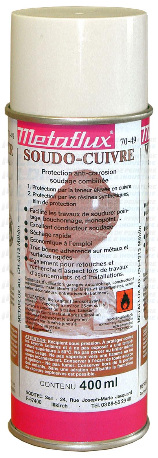 SOUDO CUIVRE AEROSOL 400ML