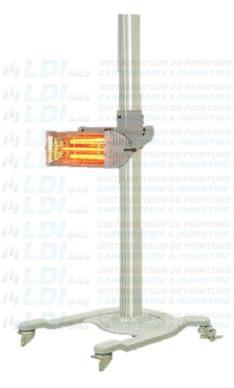 SECHEUR INFRAROUGE 1 X  1000 W   220V