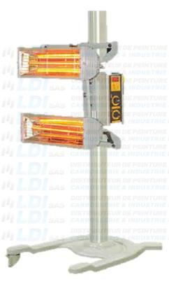 SECHEUR INFRAROUGE 1 X  2000 W   220V