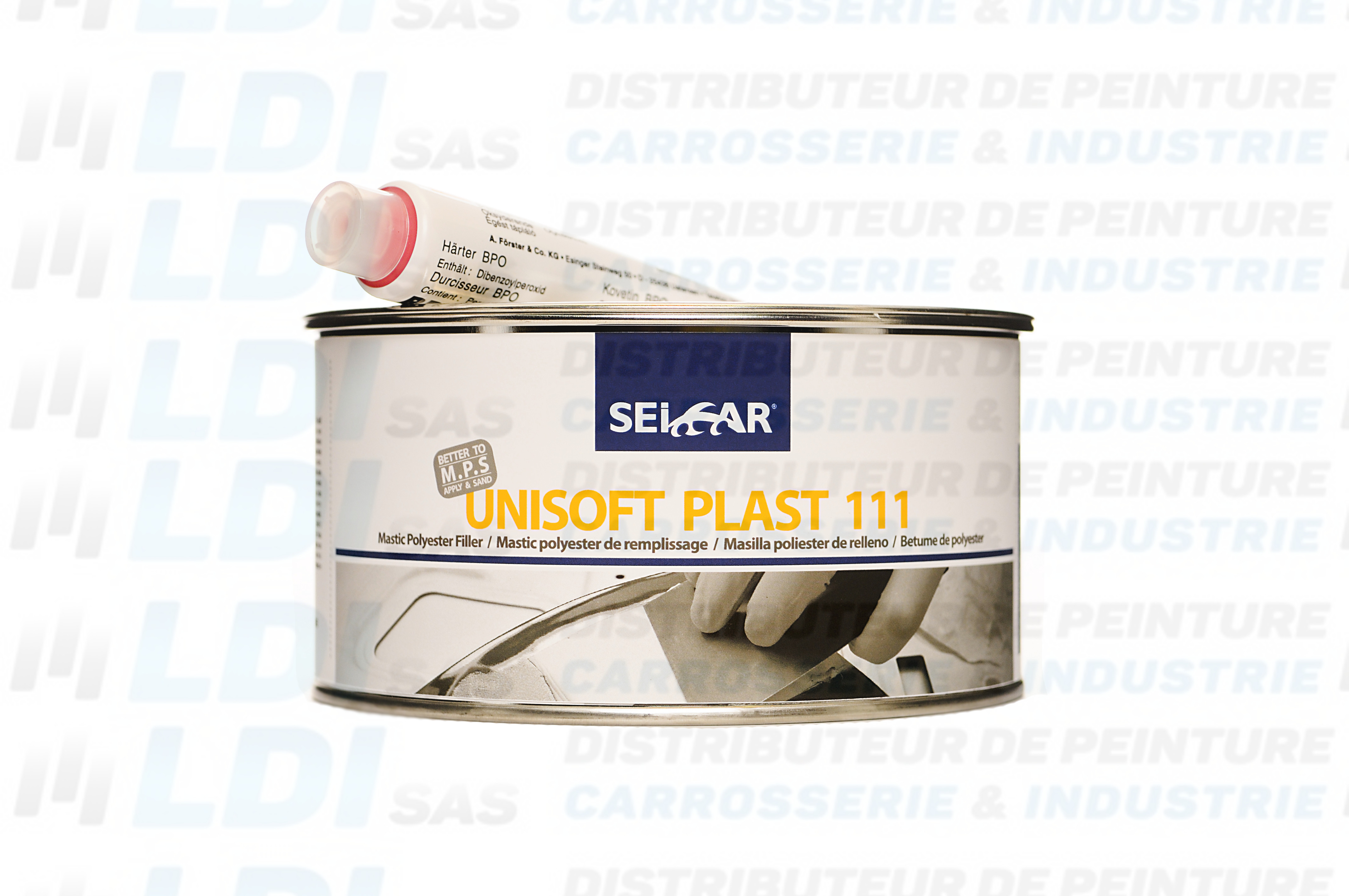 BOITE UNISOFT  BLANC 111 MASTIC MULTI  1L LIGHT