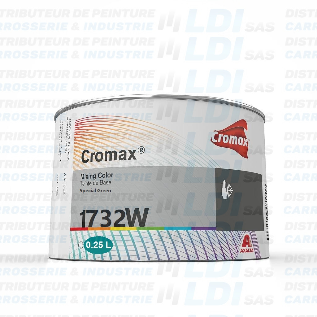 BASE CROMAX SPECIAL GREEN  X  250 ML