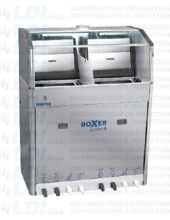LAVEUR DE PISTOLETS INOX BOXER 2 POMPES