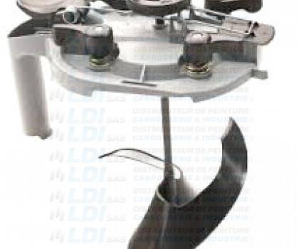 COUVERCLE 3L5  SPECIAL BASE BLCA 2057 LEVIER GRIS