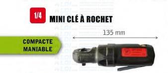 CLE A ROCHET 1/4 RAPIDE