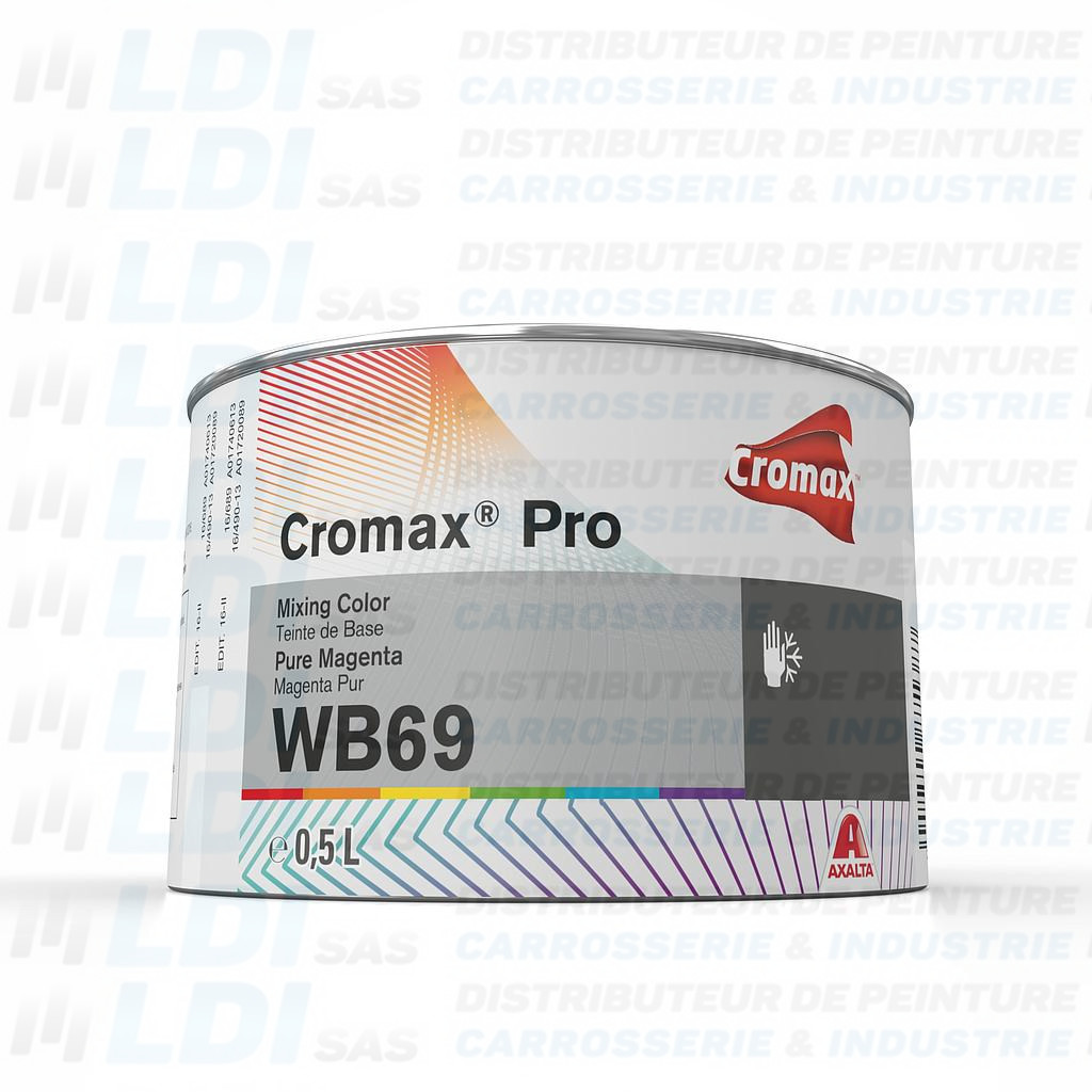 CROMAX© PRO MIXING COLOR PURE MAGENTA 0.50 LI