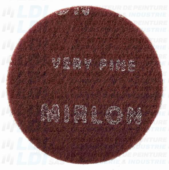 DISQUE MIRLON ROUGE DIAM 150MM P360 X10