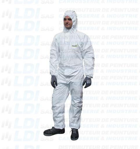 COMBINAISON DE PEINTURE BLANC TAILLE XL (54-56)