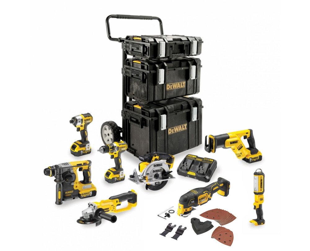 KIT PREMIUM 8 OUTILS TOUGH SYSTEM