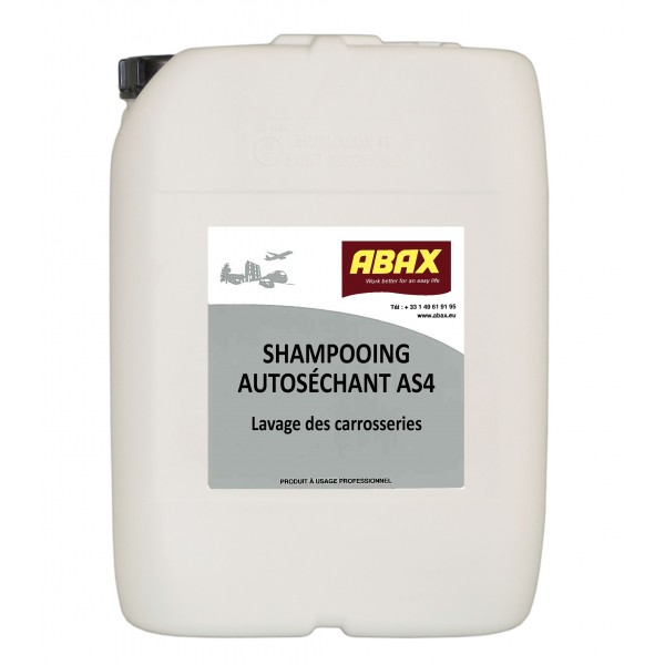 SHAMPOOING AUTOSECHANT AS-4  5L