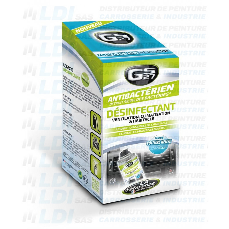 COFFRET NETTOYANT CLIMATISATION NEW CAR 150ML