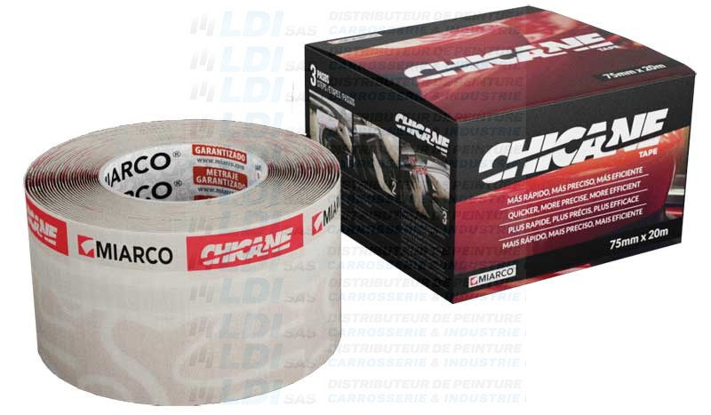 BANDE DE MASQUAGE CHICANE TAPE 75MM X 20M