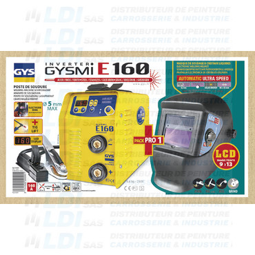BUNDLE GYSMI E160 + MASQUE LCD 9/13