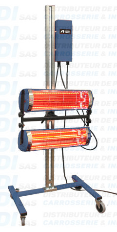 SECHEUR 2KW ELECTRONIQUE MOBILE + SUPPORT + PLATIN