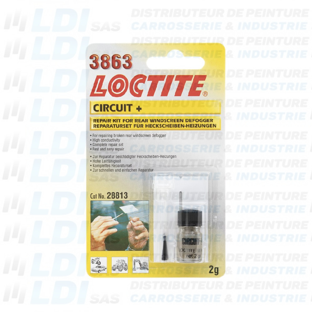 REPARATION CIRCUITS DE DEGIVRAGE 3863 FLACON 2G