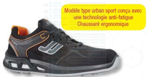 CHAUSSURE CUIR VELOURS JALPEPS SAS BASSE T42