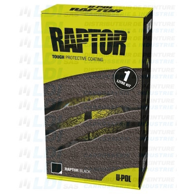 RAPTOR LINER TEINTABLE 1 LITRE KIT